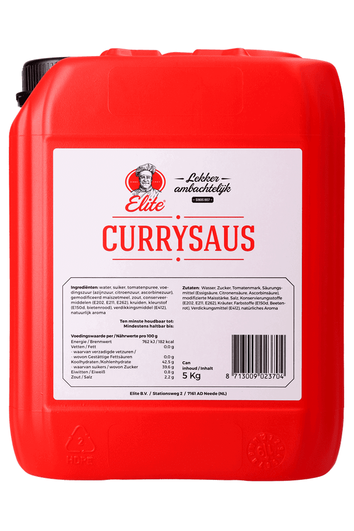 Productafbeelding Currysaus can 5 kg