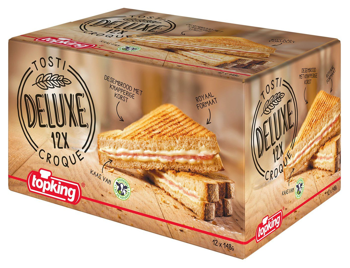 Productafbeelding Tosti Deluxe 12x1 st.